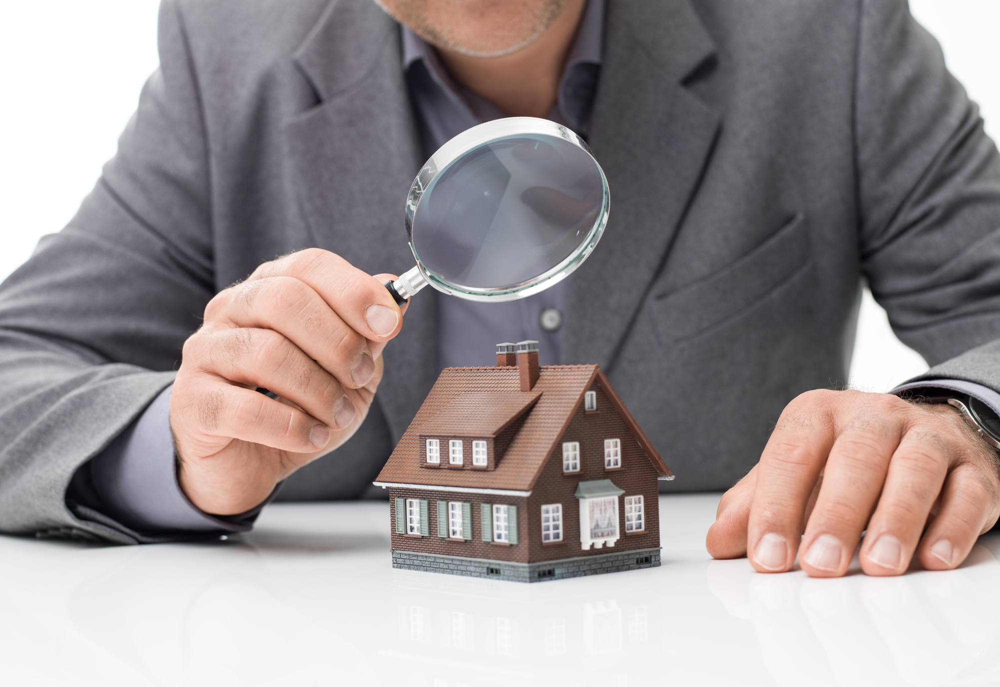 House inspection and real estate concept